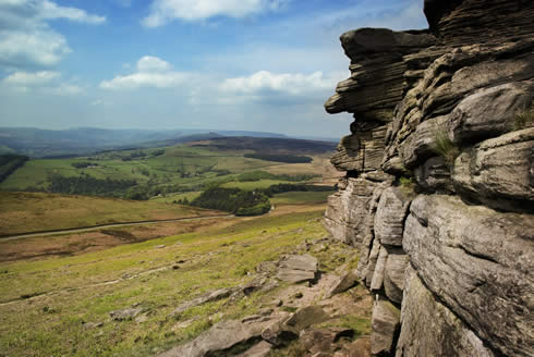 Peak District Crag